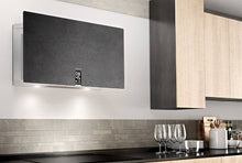 Airforce In Time Gres 83cm Flat Wall Mounted Cooker Hood Black Lime