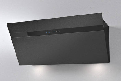Airforce Gres V15 90cm Flat Wall Mounted Cooker Hood Black Lime Stone