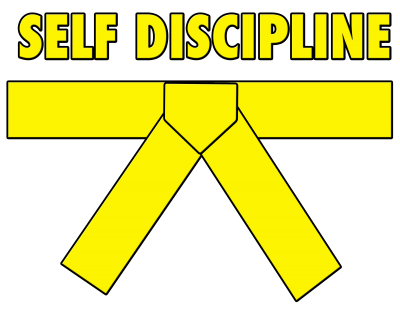Gold Belt - Self Discipline