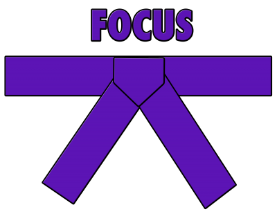 Purple Belt - Focus