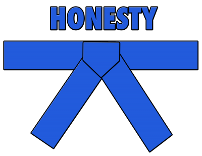 Blue Belt - Honesty