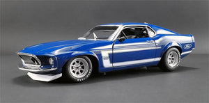 1969 Ford Boss 302 Trans Am Mustang 1:18 Diecast