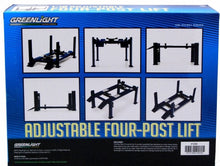 Four Post Lift 1:18 Diecast