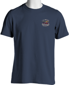 Fast Lane Classic Cars Stars and Stripes Chevy T-Shirt
