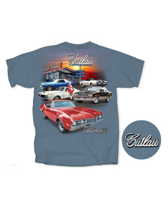 Oldsmobile Cutlass Diner T-Shirt