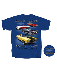 El Camino Party In The Back T-Shirt