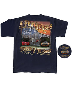 Mustang Few Horses In The Barn T-Shirt