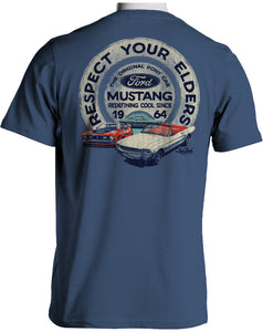 Respect Your Elders Mustang T-Shirt