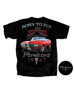 1967 Firebird Born To Fly T-Shirt