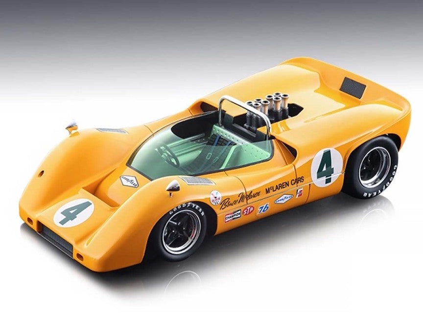 1967 McLaren M6A #4 Can Am 1:18 Diecast
