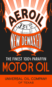 Aeroil Vintage Style Sign