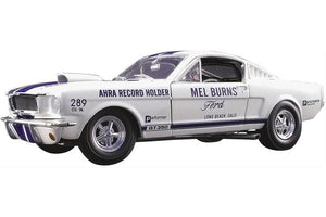 1965 Ford Mustang Shelby GT350 Drag Car 1:18 Diecast