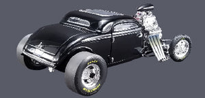 1934 Blown Altered Coupe Outlaw 1:18 Diecast