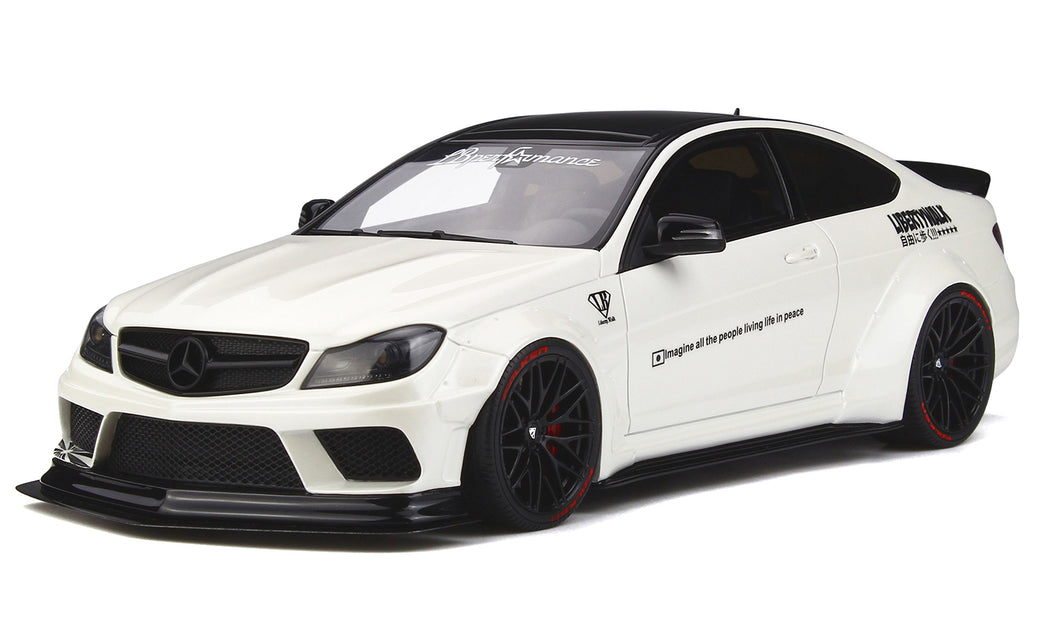 Mercedes-Benz C63 Liberty Walk 1:18 Diecast