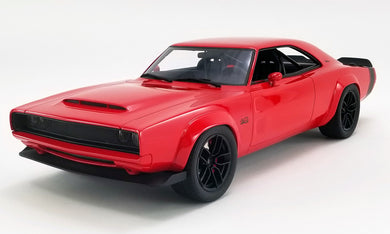 1968 Dodge Charger Supercharger Concept 1:18 Resin Body