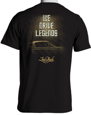 1968 Mustang We Drive Legends T-Shirt by Laid Back