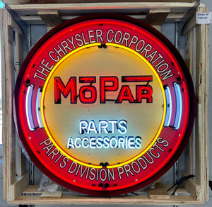 Mopar Parts & Accessories Neon Sign