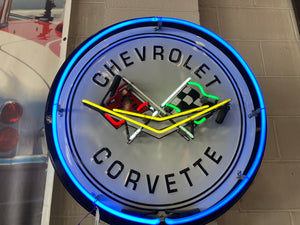Chevrolet Corvette Neon Sign