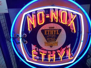 """No Nox Ethyl"" Neon Sign"