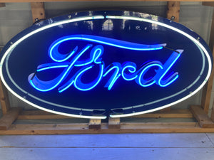 Large Ford Oval