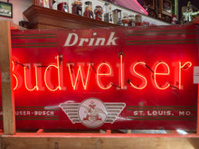 Large Budweiser Neon Sign