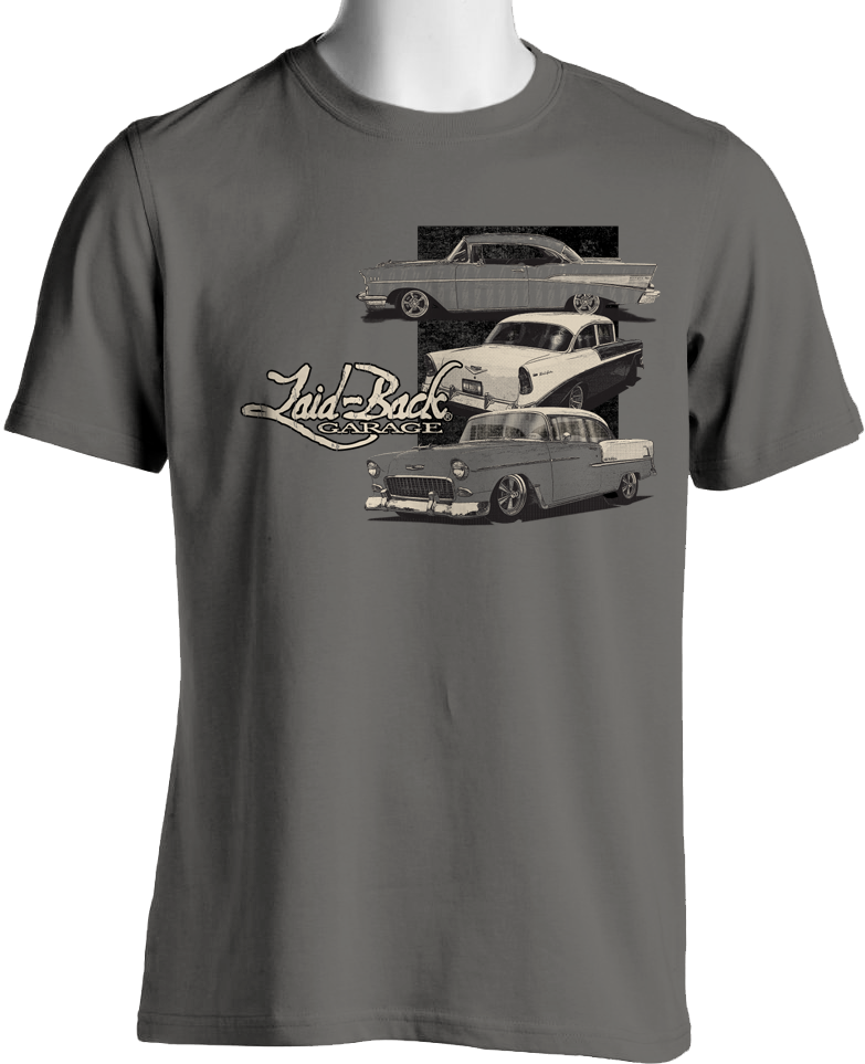 1950's Chevy T-Shirt by Laid Back