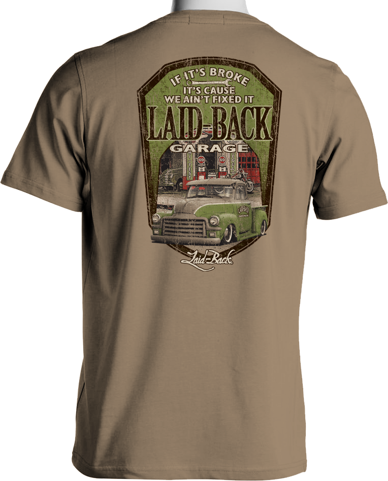 GMC Truck T-Shirt by Laid Back