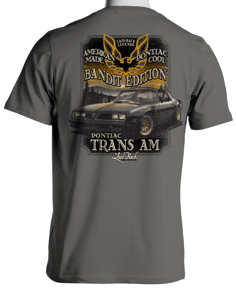 Pontiac Trans Am Bandit Edition Men's T-Shirt by Laid Back