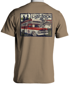 1960 Ford Truck T-Shirt by Laid Back