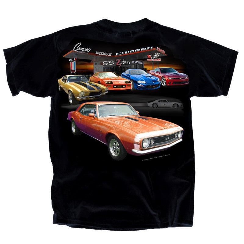 Camaro Gas Station T-Shirt