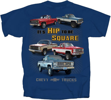 Chevy Trucks Hip To Be Square T-Shirt