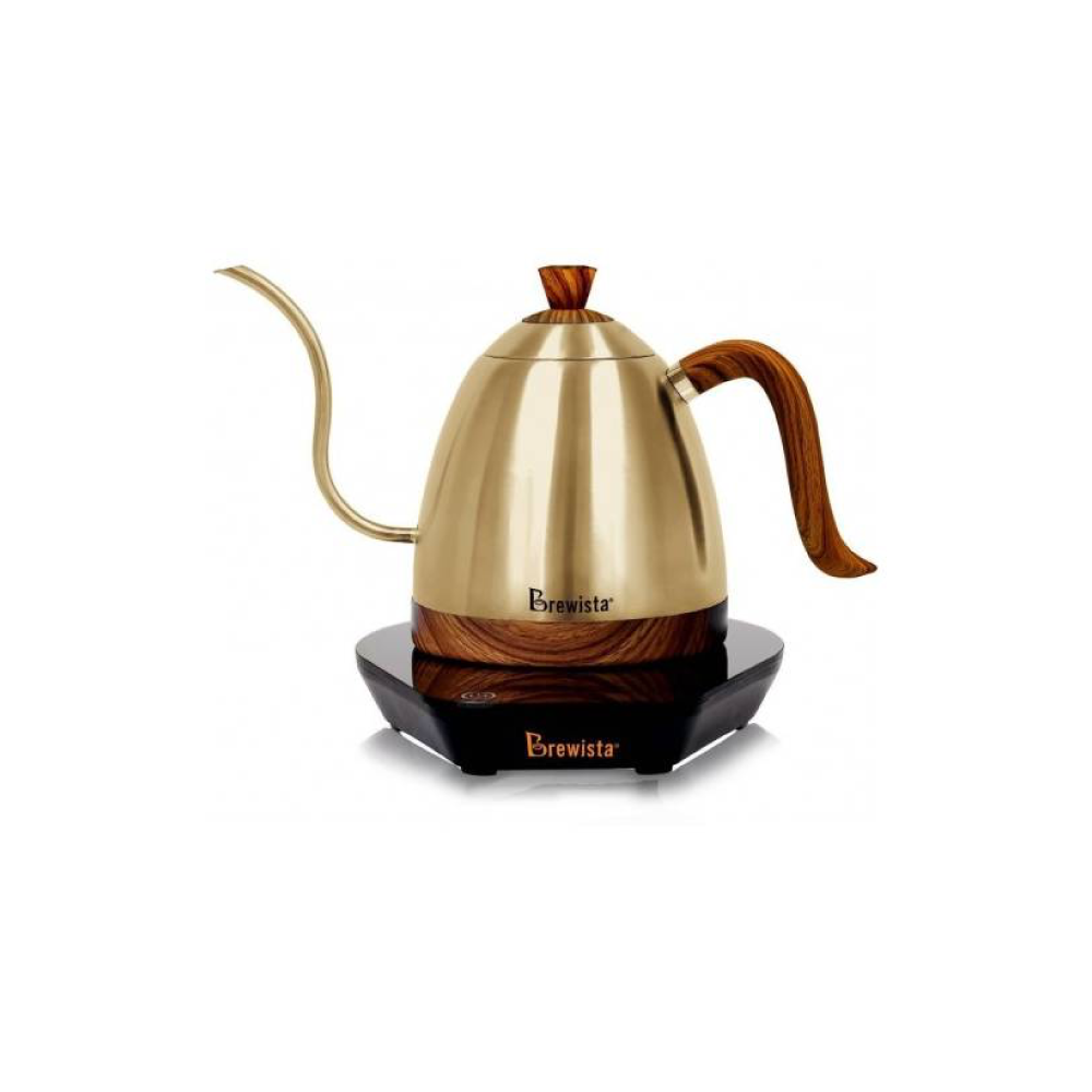 Brewista Artisan 0.6L Gooseneck Variable Temperature Kettle (Champagne Gold)