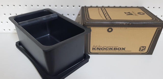 "Barista Basics Knockbox 6"" x 10"" x 5"" - Closed Bottom"