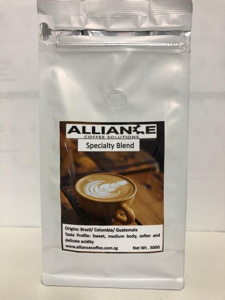Alliance Specialty Beans- BCG