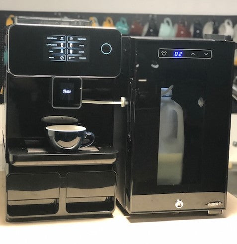 Rooma fully automatic coffee machine with milk fridge