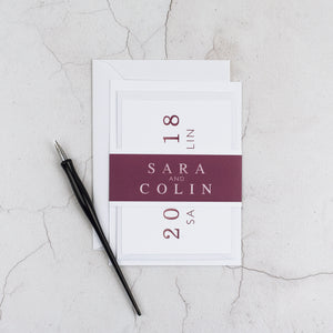 Colin + Sara            | Sample - The Little Craft Box
