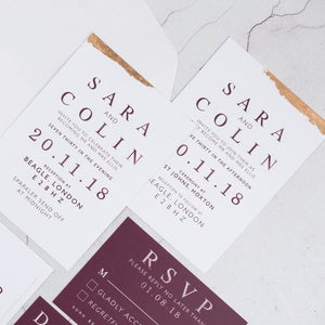 Colin + Sara - The Little Craft Box