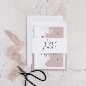 Lucy + David | Sample - The Little Craft Box