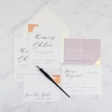 Thomas + Chloe | Save The Date - The Little Craft Box