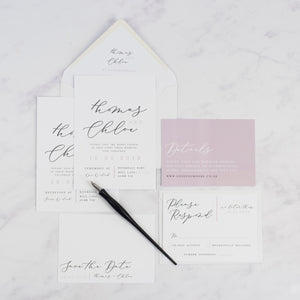 Thomas + Chloe | Sample - The Little Craft Box