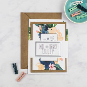 Tracey + Paul - The Little Craft Box