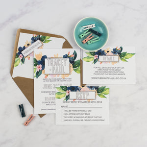 Tracey + Paul | Sample - The Little Craft Box