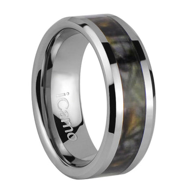iCamo Ozark Men's Tungsten Camo Wedding Ring
