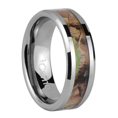 iCamo Tonto Men's Tungsten Camo Wedding Ring