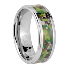 iCamo Chippewa Men's Tungsten Camo Wedding Ring