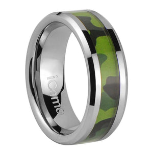 iCamo Bighorn Men's Tungsten Camo Wedding Ring