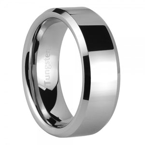 iTungsten Alastor Men's Tungsten Wedding Ring