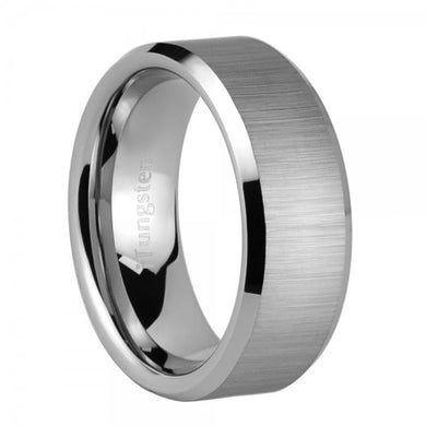 iTungsten Atlas Men's Tungsten Wedding Ring