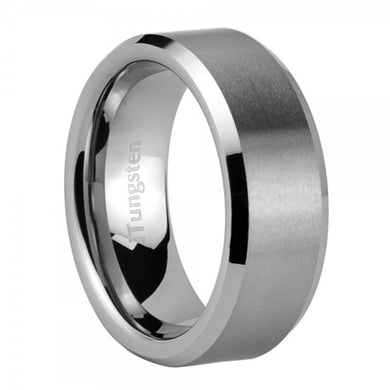 iTungsten Cronos Men's Tungsten Wedding Ring