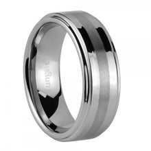iTungsten Erebus Men's Tungsten Wedding Ring
